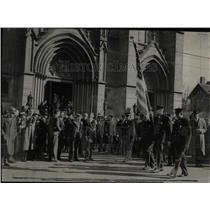 1936 Press Photo Annual Communion Knights Of Columbus - RRX61431