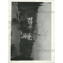 1930 Photo Princess Ileana Getting Married In Romania - RRX93779