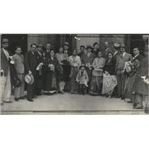 1935 Press Photo Indians merchants industrialists India - RRX83677