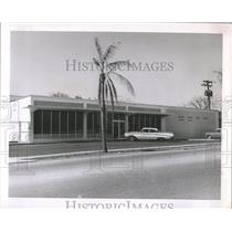 1963 Press Photo Dundein Post Office Florida - RRX83987