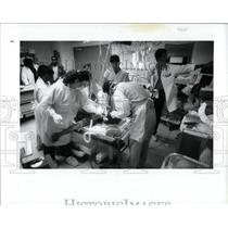 1992 Press Photo Grace Hospital Detroit