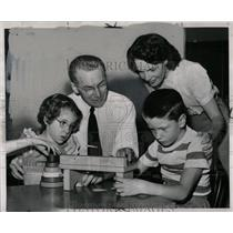 1950 Press Photo United Cerebral Palsy Clinic Detroit - RRY52975