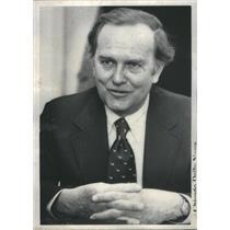 Mr Russel Peterson, Citizens Action group1977 Press Photo - RSC93873