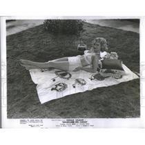 "1950 Press Photo Ellye Marshall ""Champagne For Caesar"" - RSC08955"