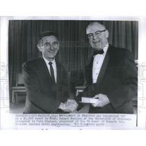 Press Photo Professor Gerard Rolich University Wisconsin Excellence Award