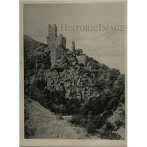1927 Press Photo Castle Sooneck Erected Medieval Ages - RRX70575