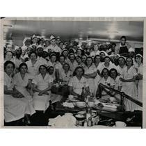1937 Press Photo Strike Restaurant Worker Chicago Sit D - RRW86759