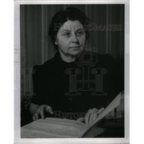 1940 Press Photo Girls Training School Supt Truman - RRX49351