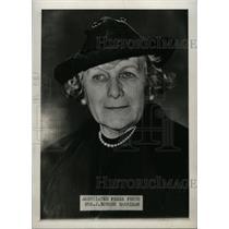 1937 Press Photo Mrs Borden Harriman Associated - RRW71953