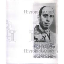 1963 Press Photo Spanish Communist Leader Garcia Portrait Execution Article