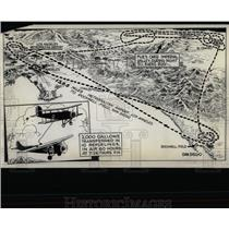 1929 Press Photo Army Endurance Plane New Record Mich - RRY60307