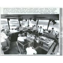 1970 Press Photo Chicago's O'Hare Airport Control Tower - RRY17107