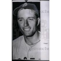 1952 Press Photo Jim Piersall Boston Redskins - RRX39261