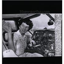 1963 Press Photo Mrs. Betty Miller, Santa Monica, CA