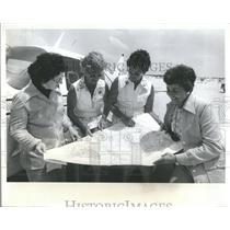 1976 Press Photo Ivone ZychEthel thel GibsonGiBetty Hoo- RSA05851
