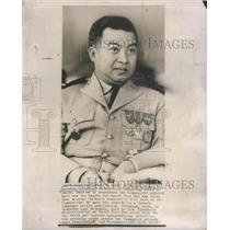 1967 Press Photo Norodom Sihanouk King Cambodia Voluntary Abdication Cambodia