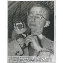 1954 Press Photo Bem Price reporter - RSC63311