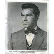 1953 Press Photo Ron Randell Australian Born American Film Actor. - RSC88261