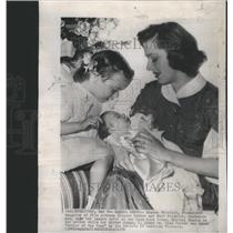 1950 Press Photo Eleanor Parker American Screen Film Actress Chicago Illinois