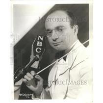 Press Photo Barry Salter 1940 Television Radio Star NBC Network - RSC94881