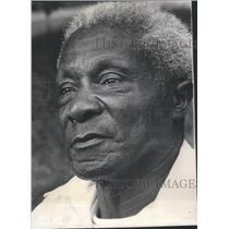 1927 Press Photo David Shanks African World War Veteran 44 Year Prison Africa