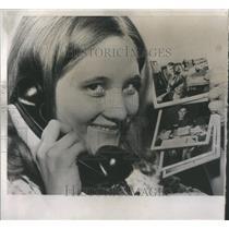 1968 Press Photo Joanne Price Georgia Long Distance War Proposal - RSC75973