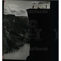 1984 Press Photo Pulpit Rock Lyse fjord Norway - RRX70493