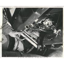 1962 Press Photo Taillight Switch - RRW52767