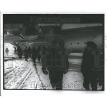 1970 Press Photo Antarctica Expedition/Airplane - RRV59017