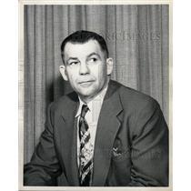 1952 Press Photo Paul R. Taylor Lansing Police Chief - RRW20407