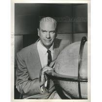 1960 Press Photo Col. John D. Craig American Writer & Explorer - RSC18689