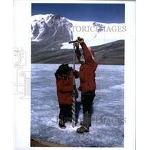 1970 Press Photo Antarctica Expedition Jean Pearson