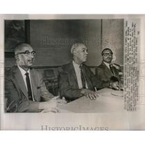 1965 Press Photo Negro Leaders Civil Rights Aims - RRX21089