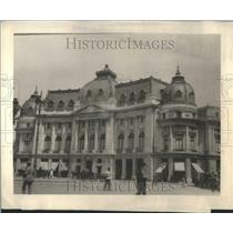 1924 Press Photo University Bucharest Romania