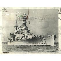 1941 Press Photo British Battle Cruiser Repulse