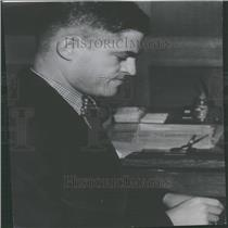 1937 Press Photo Alan Gould AP Sports Writer