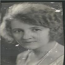 1931 Press Photo Mrs. Claude W.Blake Soprano Singer.