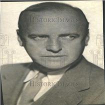 1936 Press Photo William Clement Entertainer Actor