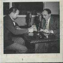1946 Press Photo Jack Fitzpatrick And Palmer Hoyt