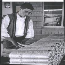 1959 Press Photo Norm Larkin