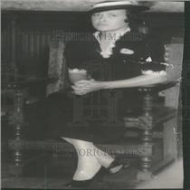 1936 Press Photo Kathryn Crawford American Film Actress