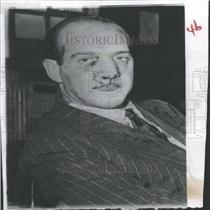 1953 Press Photo Pietro Mele Italian Movie Director