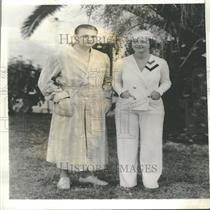 1934 Press Photo Harry Kipke Michigan University Coach
