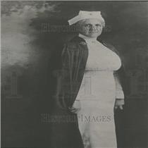 1929 Press Photo Red Cross Nurse Delano In Uniform - RRY28281