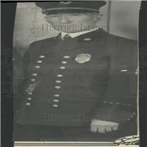 1931 Press Photo John Healy Denver Fire Chief - RRY27061
