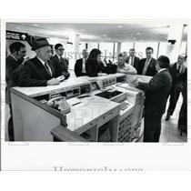 1971 Press Photo Passengers at Tampa International Airport - XXB08999