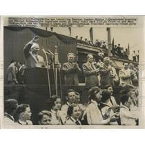 1957 Press Photo Nikita S. Khrushchev