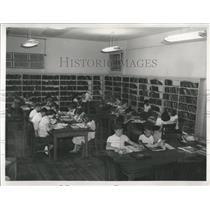 Press Photo Palmetto Junior High School Library