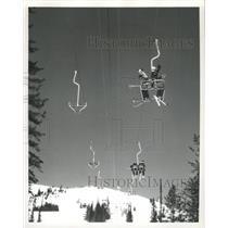 Press Photo Mount Silver Star Vernon British Columbia