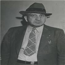 1939 Press Photo Coal Mine Inspector Allen Man Suit Tie